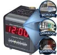 Spy Hidden Camera In Projection Clock Working In Delhi India – 9811251277