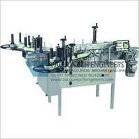 Automatic Front & Back Sticker Labelling Machine