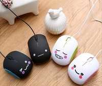 Creative bread mouse shape wired mouse