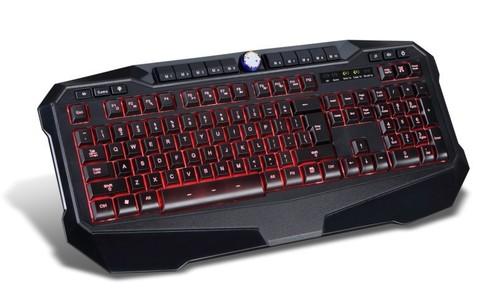Illuminated High End Gaming Keyboard Keys Editable