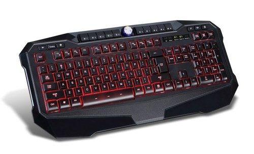 Illuminated High End Gaming Keyboard Keys Editable