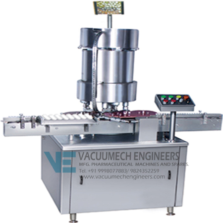 Automatic Multi Head Vial Cap Sealing Machine