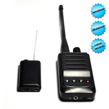 Spy Wireless Voice Transmitter With Recording Faci
