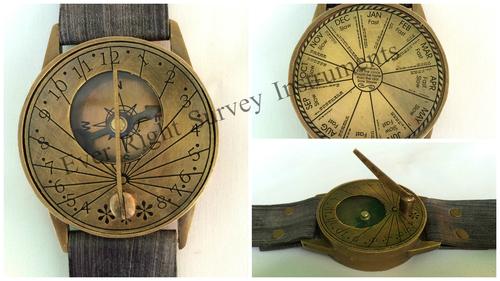 Wrist watch Sundial Compass