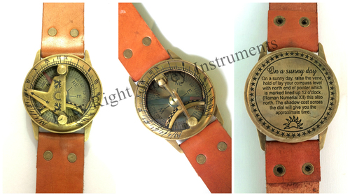 Steampunk Wrsit Sundial
