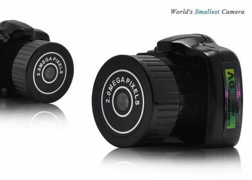 World Smallest Camera