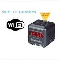 Wifi-Camera In Table Clock Camera