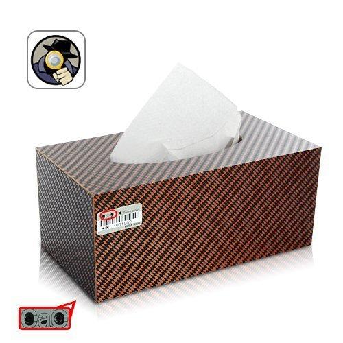 Spy Tissue Paper Car Camera