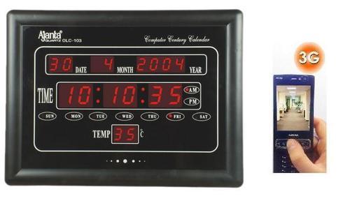 SPY 3G HIDDEN SECRET DIGITAL WALL CLOCK CAMERA IN DELHI INDIA – 9811251277