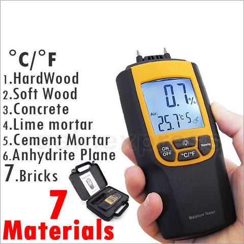 Digital Portable Digital Wood Moisture Meter