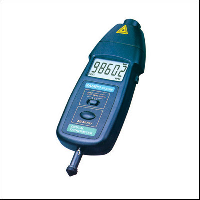 Contact & Non - Contact Type(Combined)-Tacho Meter