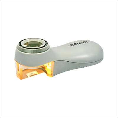 Magnifier with Light and Scale (8X)