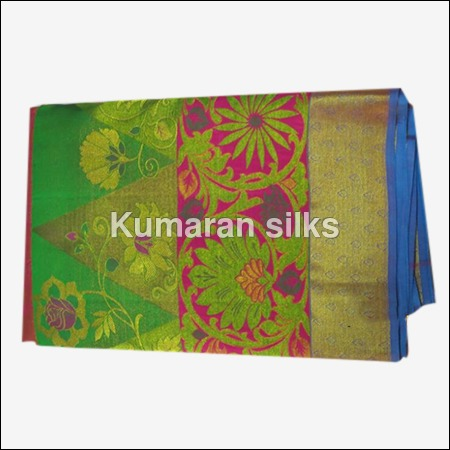 Fancy Bridal Silk Saree