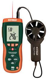 CFM/CMM Thermo-Anemometer