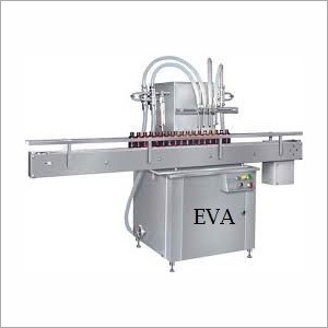 Automatic Volumetric Linear Bottle Filling Machine