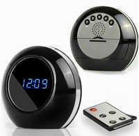 SPY TABLE CLOCK CAMERA UPDATED VERSION