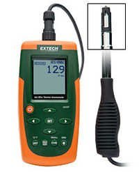 Hot Wire CFM/CMM Thermo-Anemometer