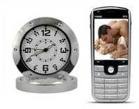 Spy Mobile Phone Operated Spy Table Clock Camera In Delhi India – 9811251277