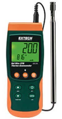 Hot Wire CFM Thermo-Anemometer/Datalogger