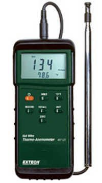 Heavy Duty Hot Wire Thermo-Anemometer