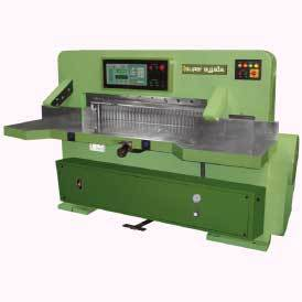 hydrolic fully automatic paper cutting machine