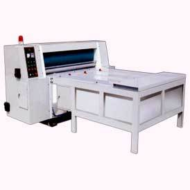 chain feeding roatary die cutting machine