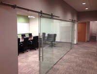 Toughened Glass Sliding Door