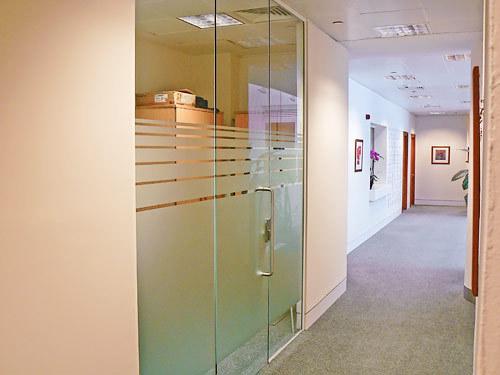 Toughened Glass Office Designer Door
