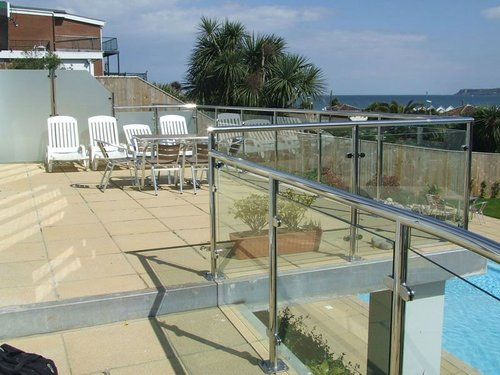 Glass railings 6