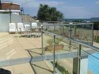 Glass railings 6