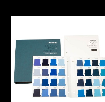 PANTONE Cotton Swatch 210 New Color Shade Card