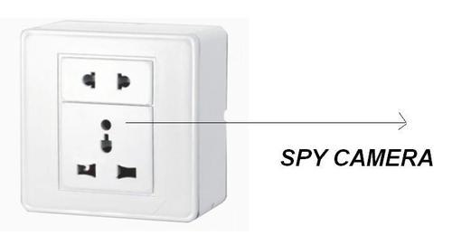 SPY CCTV SOCKET CAMERA IN DELHI INDIA – 9811251277