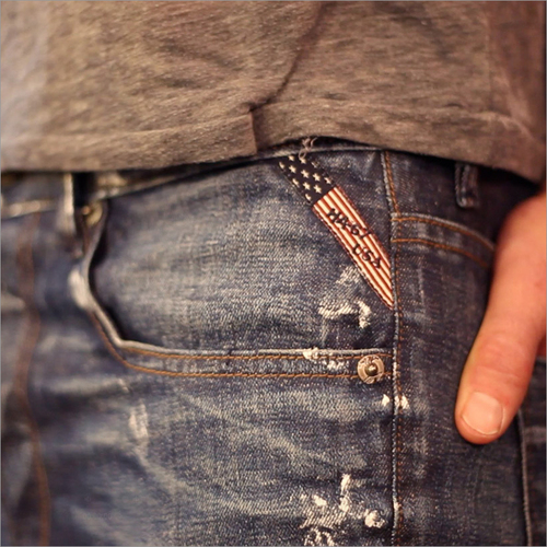 Jeans Woven Labels
