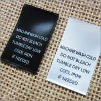 Printed Garment Labels