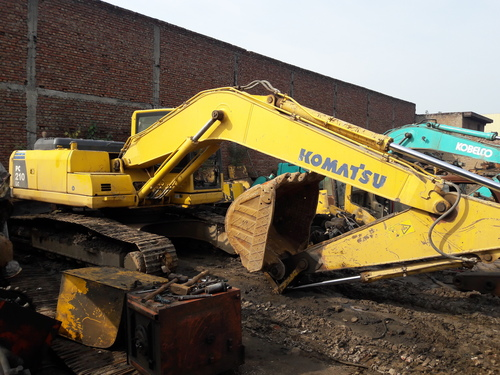 Used Spare Parts Of Excavator Komatsu PC-210