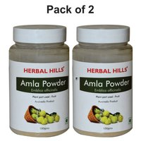 Herbal Amla Powder 100gm for Immunity Support & Digestive health (Pack of 2)