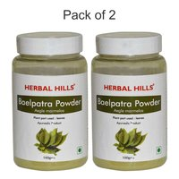 Ayurvedic Bael Patra Powder 100gm (Pack of 2) - Blood Sugar management Diabetes control