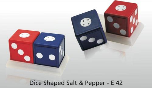 Dice Shaped Salt Pepper