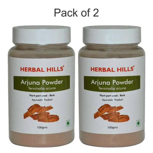 Herbal Arjuna Powder (Terminalia arjuna) for Lowering Cholesterol 100 gm