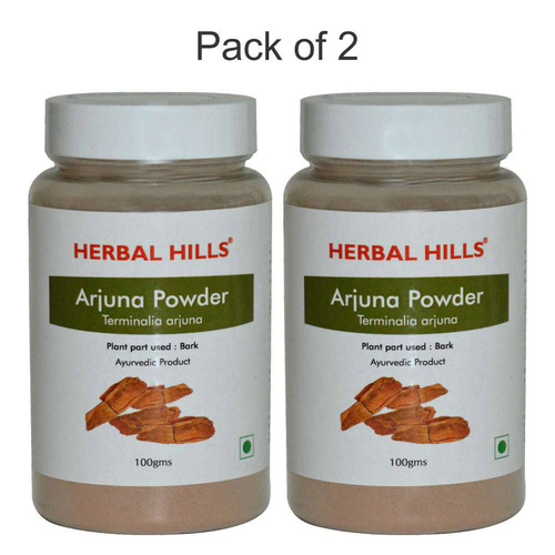 Ayurvedic Arjuna Powder 100gm for Healthy Heart (Pack of 2)