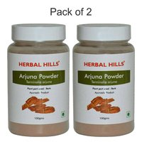 Herbal Arjuna Powder (Terminalia arjuna) for Lowering Cholesterol 100 gm