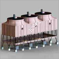 FRP Multi Cell Cooling Towers