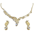 24K Gold Plated Necklace Set