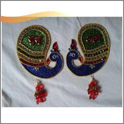 Designer Elegant Peacock Shubh Labh