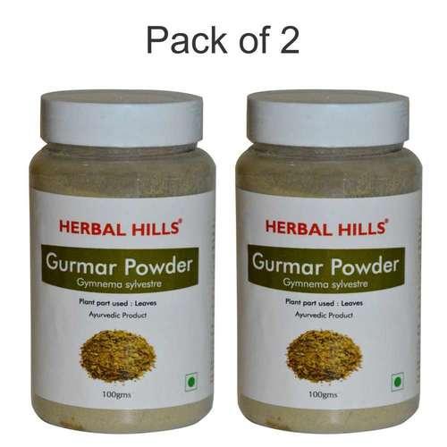Ayurvedic Gurmar powder 100gm for Healthy sugar management Diabetes Cure (Pack of 2)