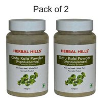 Ayurvedic Gotukola Powder 100gm for Memory Support (Pack of 2)