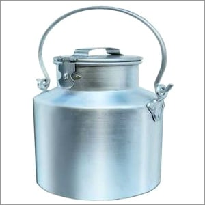 Aluminum Milk Can