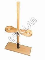 FUNNEL AND BURETTE STAND COMBINED