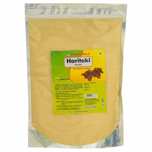 Ayurvedic Haritaki  Powder 1kg for Detoxification of Body