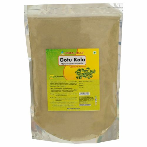 Ayurvedic Gotukola Powder 1kg for Memory Support